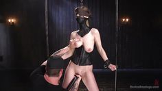 blindfolded stella cox gets used and bonded
