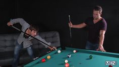 luke and johnny play snooker and suck dick