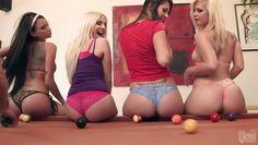 babes that love balls