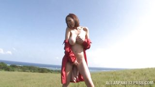 outdoor photoshoot ends with a fuck