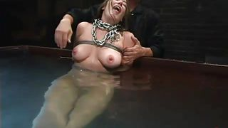 chained and drowned