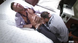 two horny guys sucking each others cock