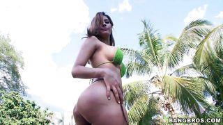 rianna's gorgeous butt