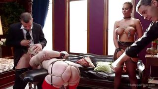 phoenix and ella get kinky in mr pete's company