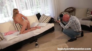 old man banged her fresh pussy