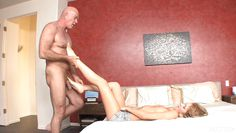 muscular step dad gets a feetjob @ relax he's my stepdad #5