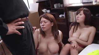 busty milfs knelt and dominated