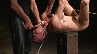 gay slave is dominated cruelly
