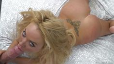 tattooed blonde seducing manuel ferrara