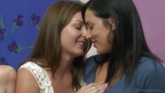 lesbian milfs teasing each other @ imperfect angels