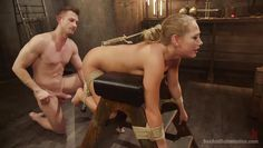 blonde chic getting bdsm treatment