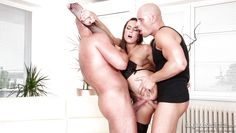 sexy nanny between bald guys @ dp the nanny with me #03