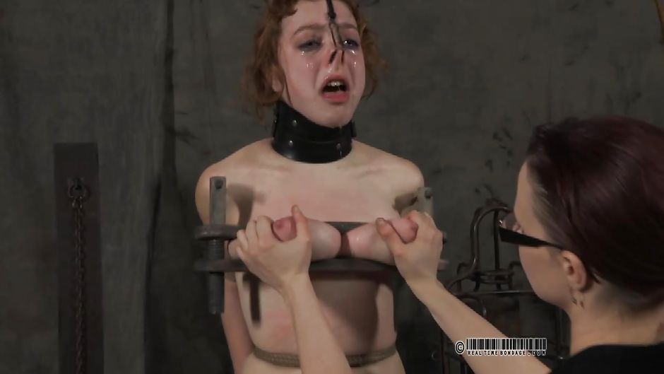 Young blonde tormented by cyd black made to cum until cross eyed