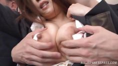 asian milf harassed in public