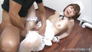 pale asian cutie is fucked hard