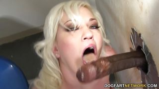 whitney grace sucks anonymous bbc - gloryhole