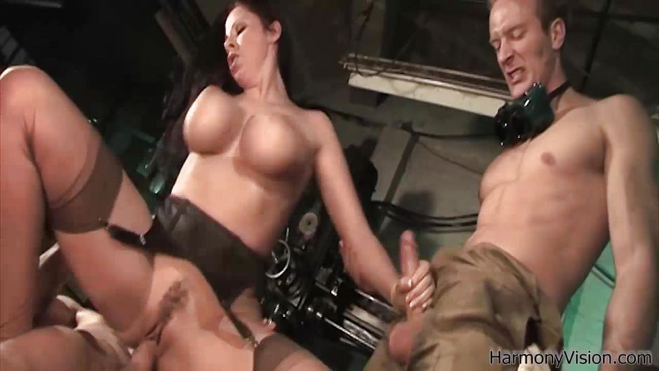 Harmony vision gianna michaels playing the cock master