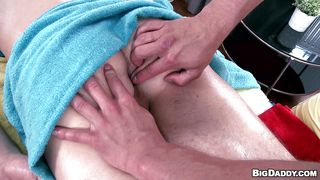 tight ass hole boy and his horny masseur