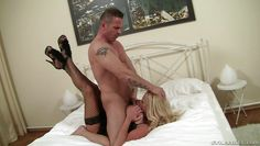 lusty milf with big boobs gets horny