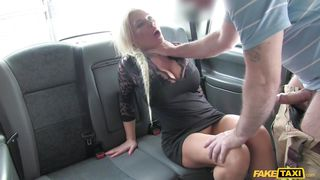 fake taxi driver fucked the horny milf