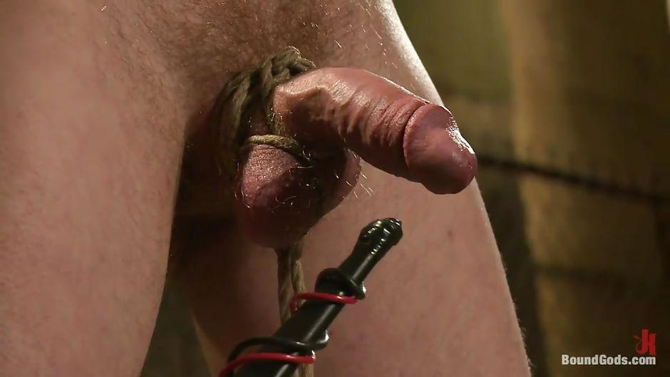 Gay electro torture bondage