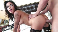 alexa aimes rides xander in a reverse cowgirl