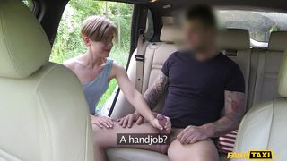 hot slut fucks for a free cab ride