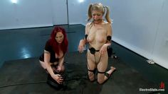 pony tails blondie has a shocking experience