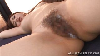 hot bush covered with cum