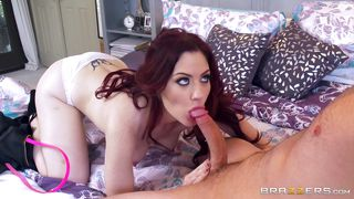 redhead bitch hungry for cock