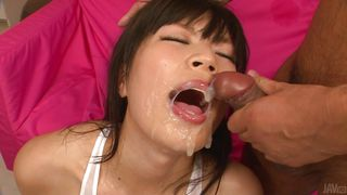 japanese lady gets ball gag in mouth