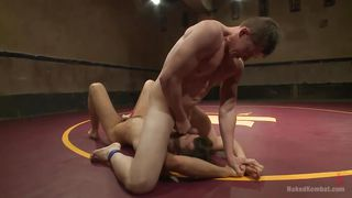 naked tensed and horny wrestler