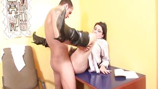 sexy tranny gets it in the ass @ my dad's a transsexual #07