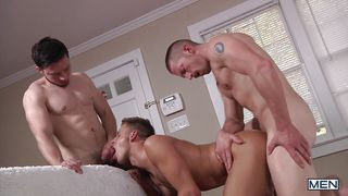 horny men making out