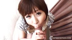 japanese babe gets her nipples sucked