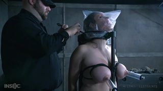 slave is humiliated and has her breasts pumped