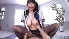 asian bitch filled with delicious cum