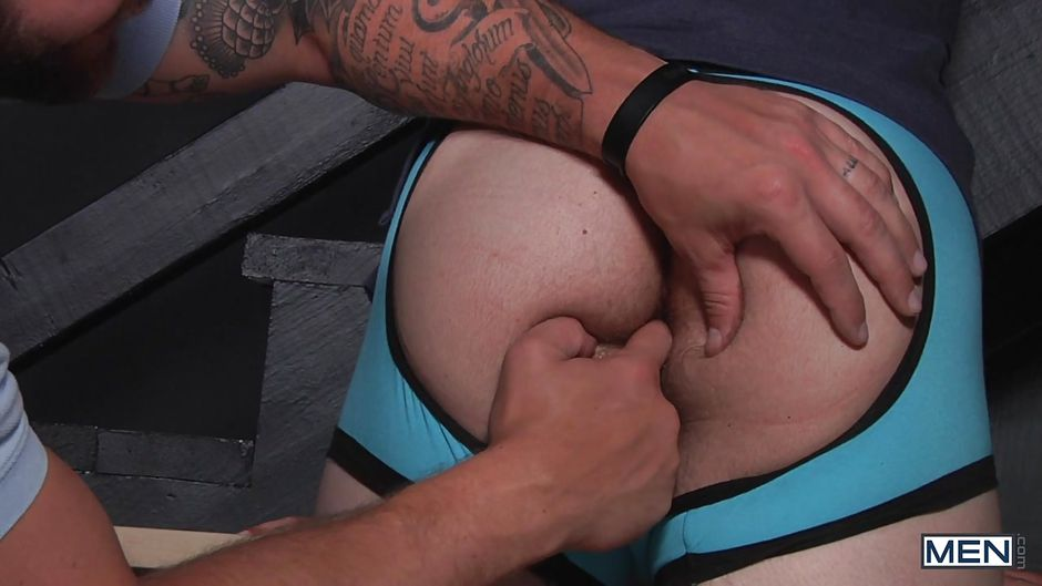 hard dick straighty gets ass fingered