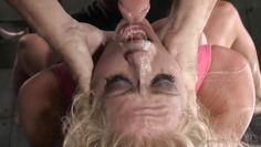 blonde fucked hard by two cocks