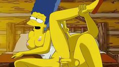 homer and marge have hardcore sex