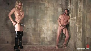 mistress ass fucks her slave