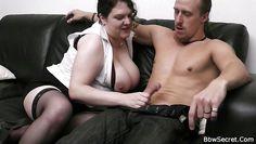 big brunette loves my cock