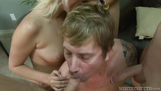 lusty couple goes hardcore @ bi cuckold gang bang #06
