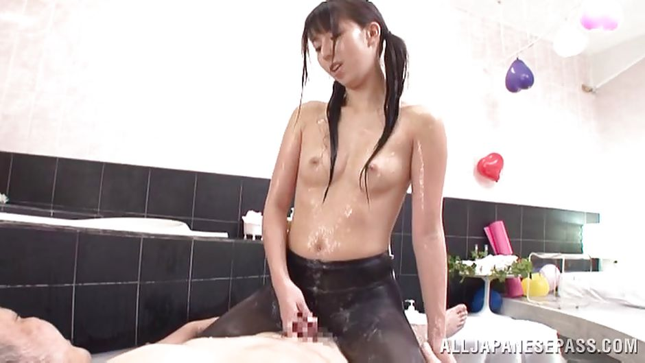 Mako kamizaki gets sex toys in asshole - 1 part 4