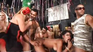 brazilian club fuck orgy
