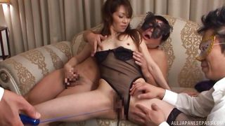 japanese milf fucked on her son's birthday party