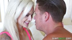 petite blonde sucking dick with frenzy