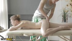 sweet eva receaving a nasty massage