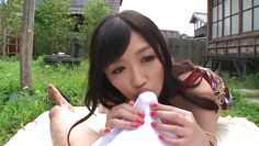 pretty nippon chick behaves naughty