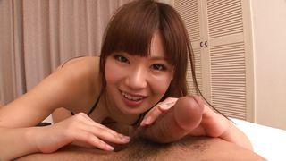japanese cutie sucks my cock so well